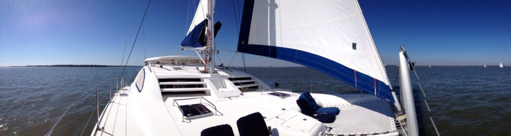 Catamaran Sailing Charters in Charleston, SC