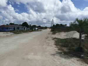 Main Street Abrahams Bay, Mayaguana