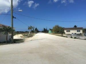 Main Street Abrahams Bay