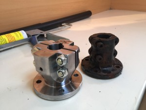 New Split Coupler for Sailboat