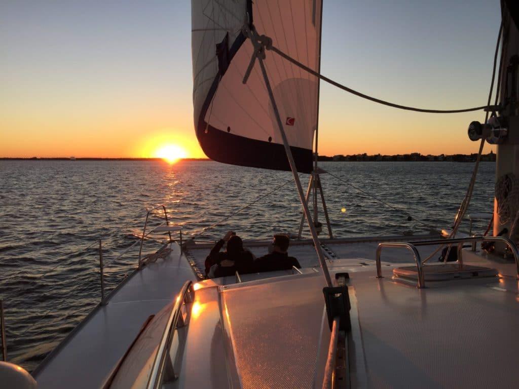 Charleston Private Sunset Sailing Cruises