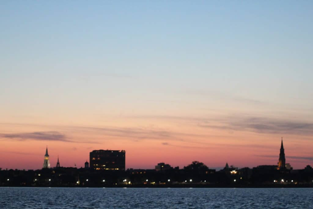 Sunset Cruises Charleston Charleston Harbor Sunset Sailing