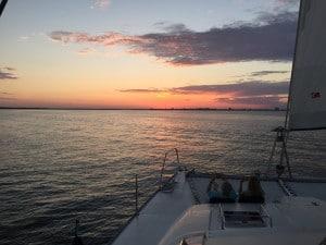 Hope Town, Bahamas Sunset Sailing